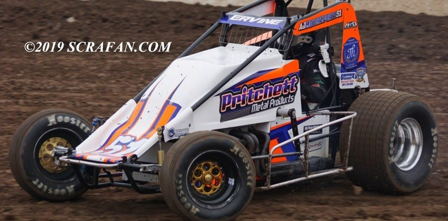 Usac West Coast Wingless Sprinters Set For Thunderbowl Appearance